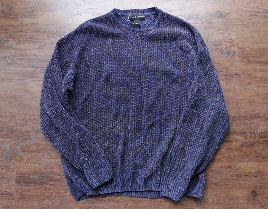 wax clothing USED / 「croft & barrows」crewneck knit
