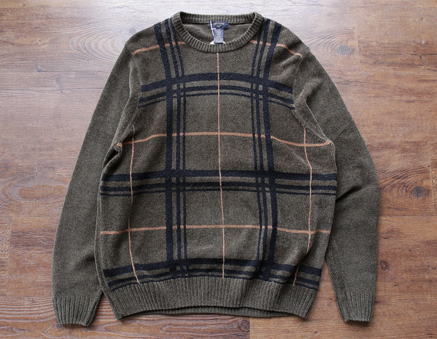 wax clothing USED / 「DOCKERS」crewneck knit