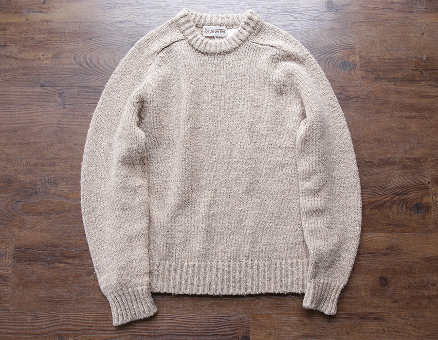 wax clothing USED / 「bryson ltd.」crewneck knit