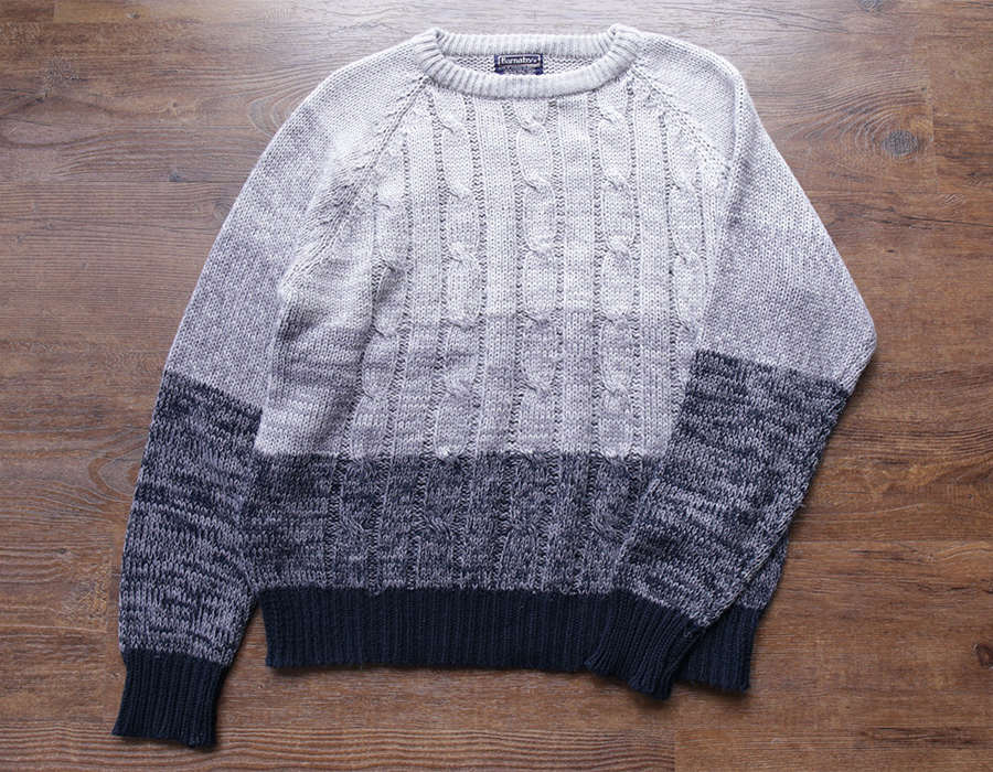 wax clothing USED / 「Barnaby」CREWNECK KNIT