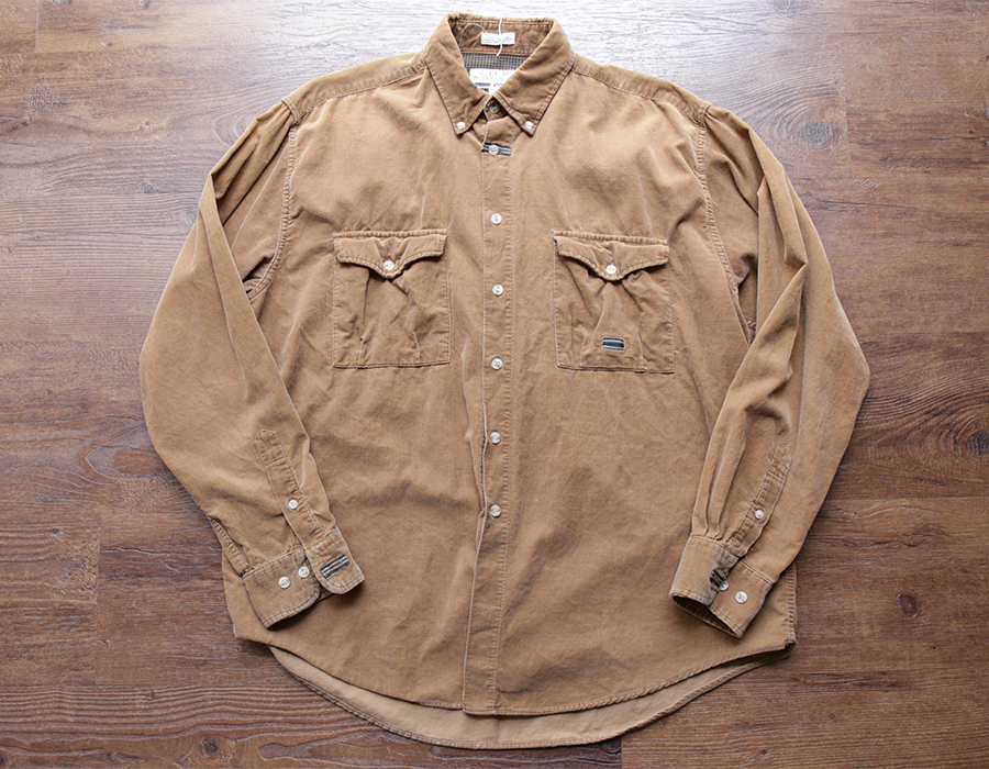 wax clothing USED / 「CLUB INTERNATIONAL」CORDUROY SHIRT