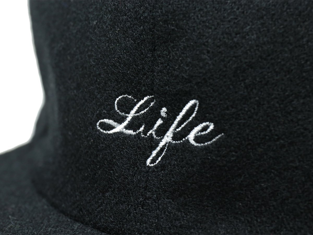 "L.I.F.E (LIVE IN FAB EARTH) / ""WL"" Cap - Black"