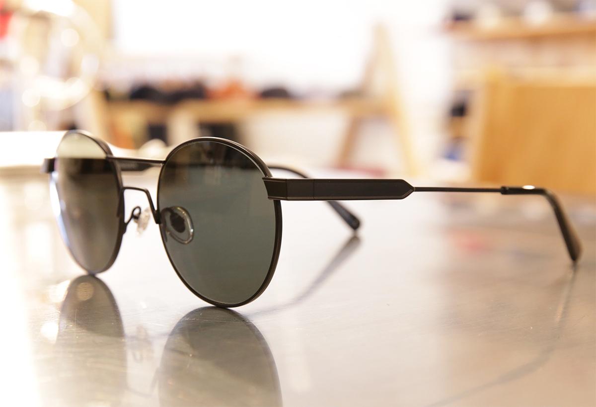 Han Kjobenhavn Eyewear / Green - Matt Black/Sun