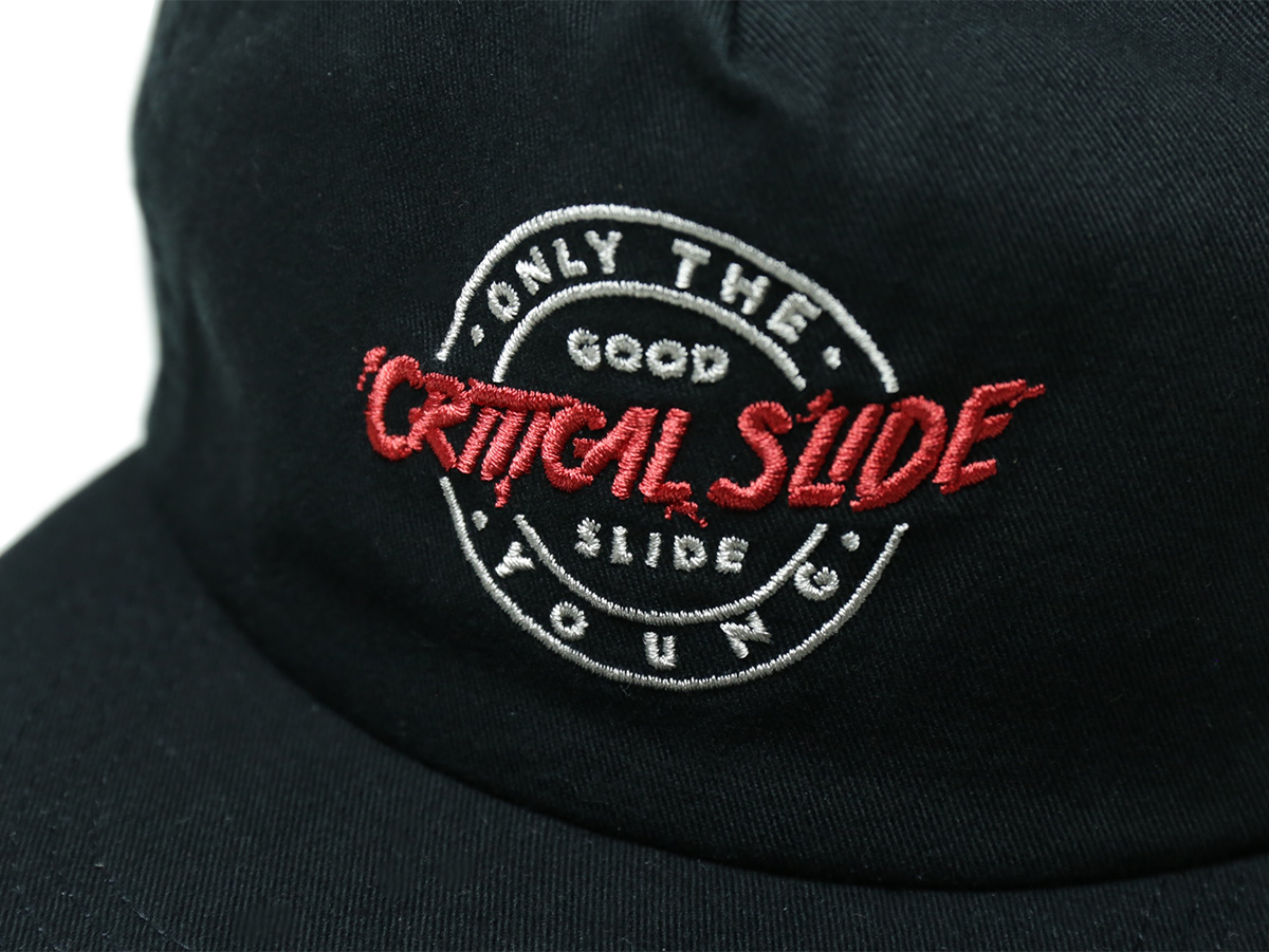 TCSS/the critical slide society FALL 2016 IDOLS CAP color : Black
