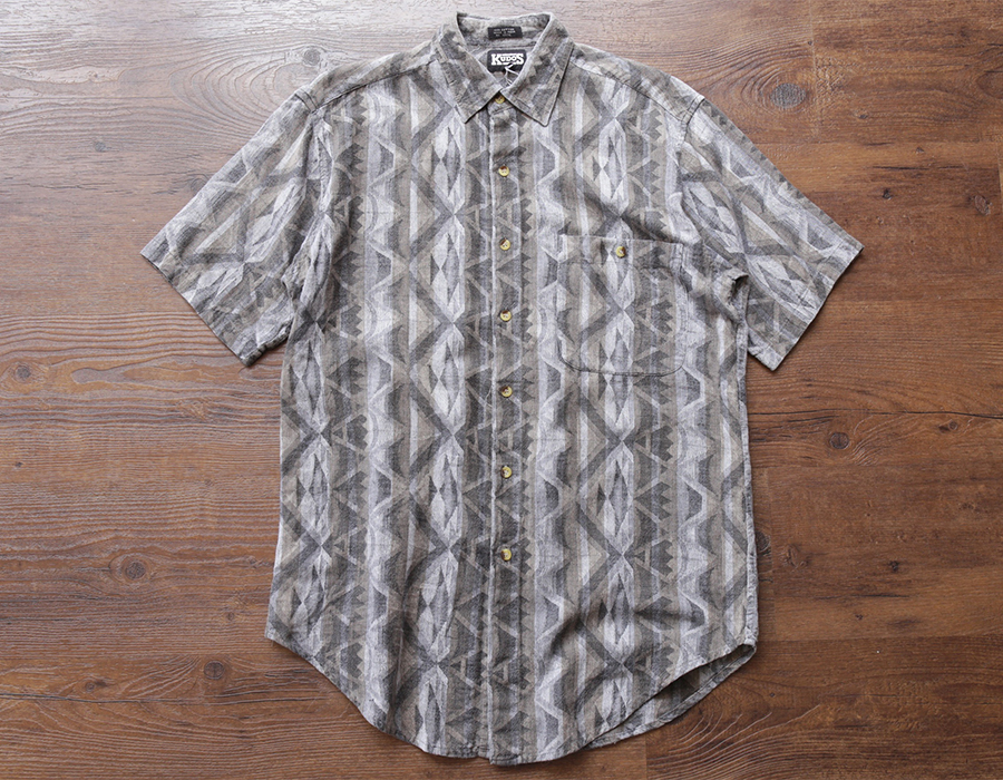 wax clothing USED / SS NATIVE SHIRTS