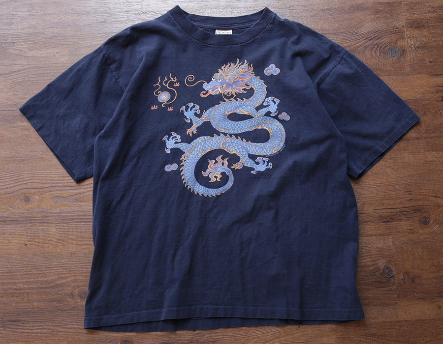 wax clothing USED / DRAGON TEE
