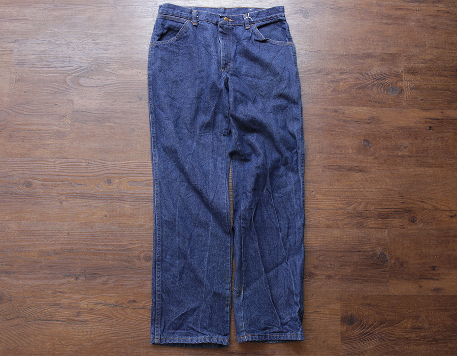 wax clothing USED / RED KAP DENIM PANTS