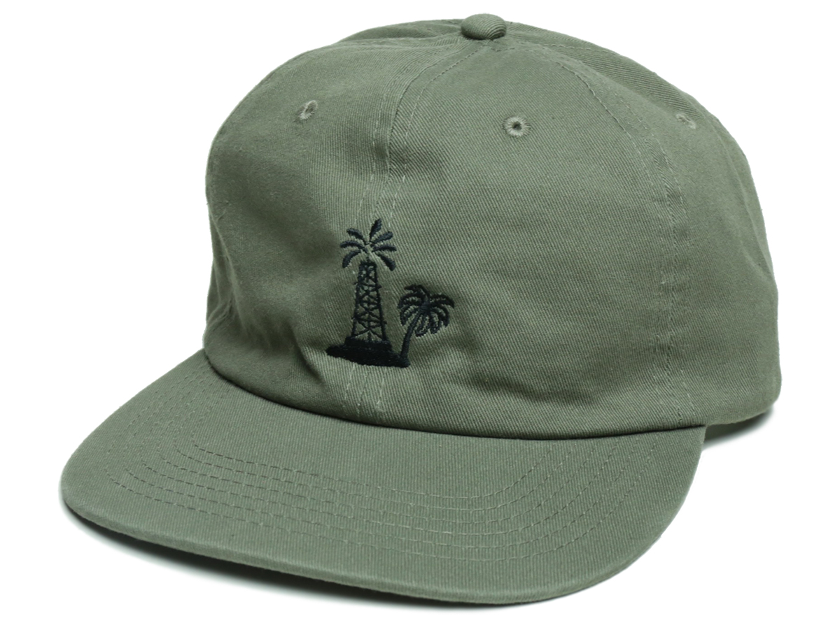 PORT LBC FALL 2016 COLLECTION OIL PALM CAP color : Drab
