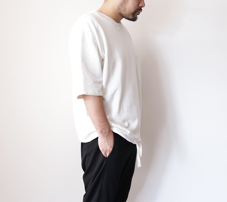 Snap / ENZYME WASH SS CREW – White 2