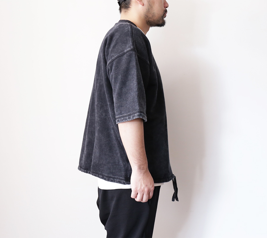 Snap / ENZYME WASH SS CREW – Black 2