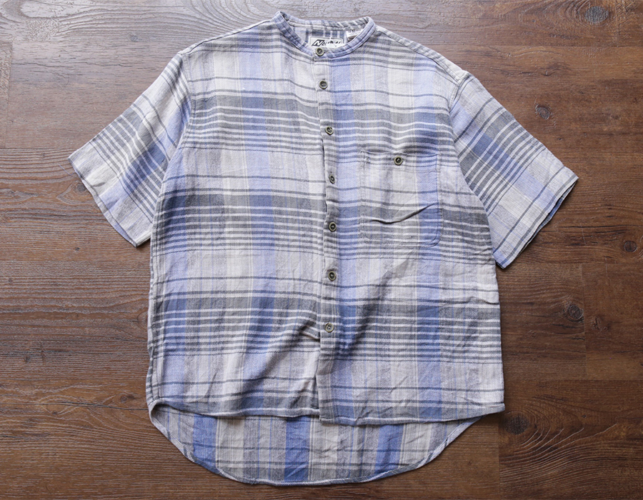 USED CLOTHING COLLECTION vol. 7 NO COLLAR SS SHIRTS