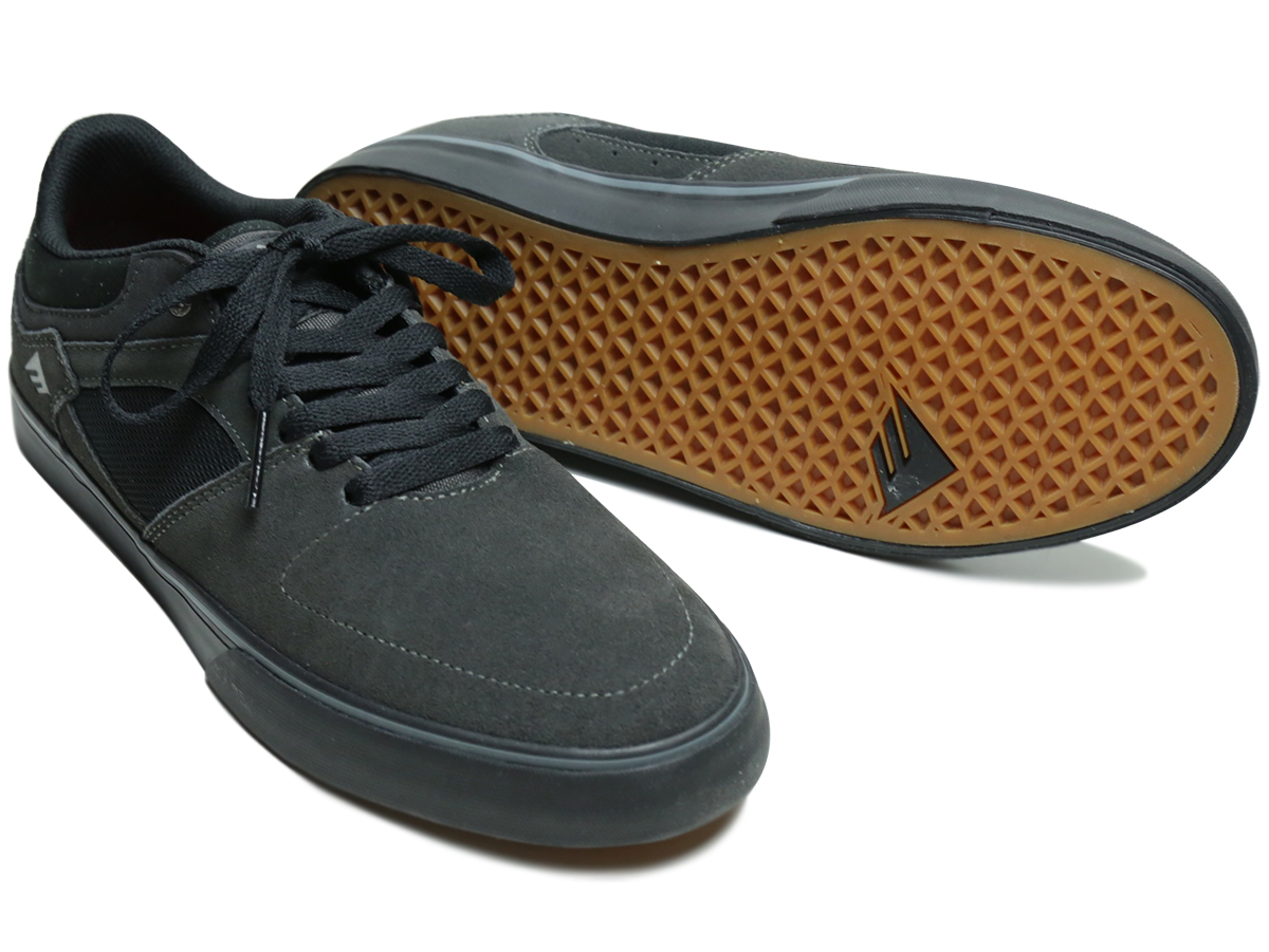 EMERICA FALL 2016 HSU LOW VULC color : Dark Grey/Black
