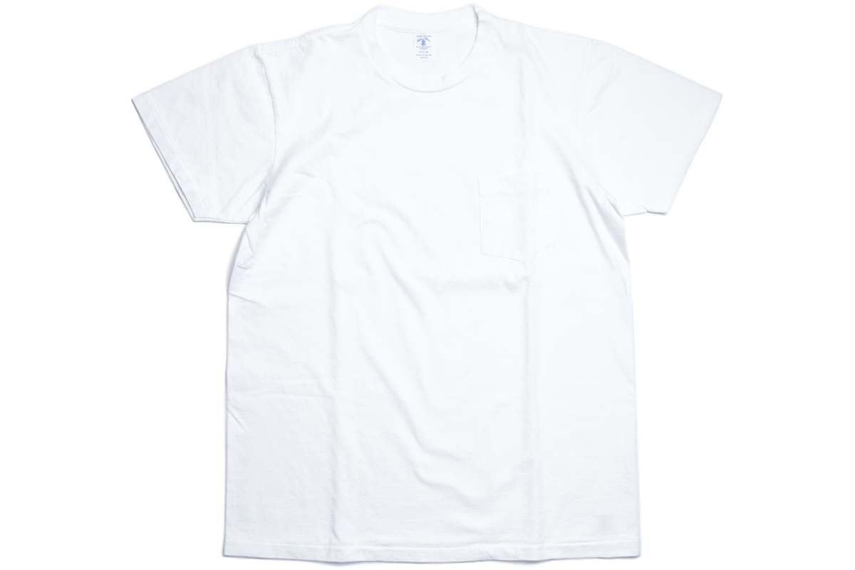 VELVA SHEEN 2PAC POCKET TEE - color : White