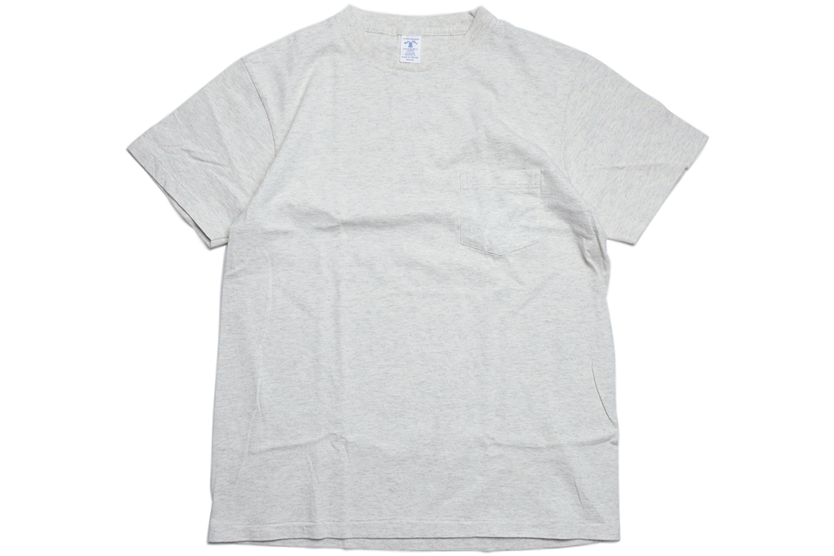 VELVA SHEEN 2PAC POCKET TEE - color : Oatmeal