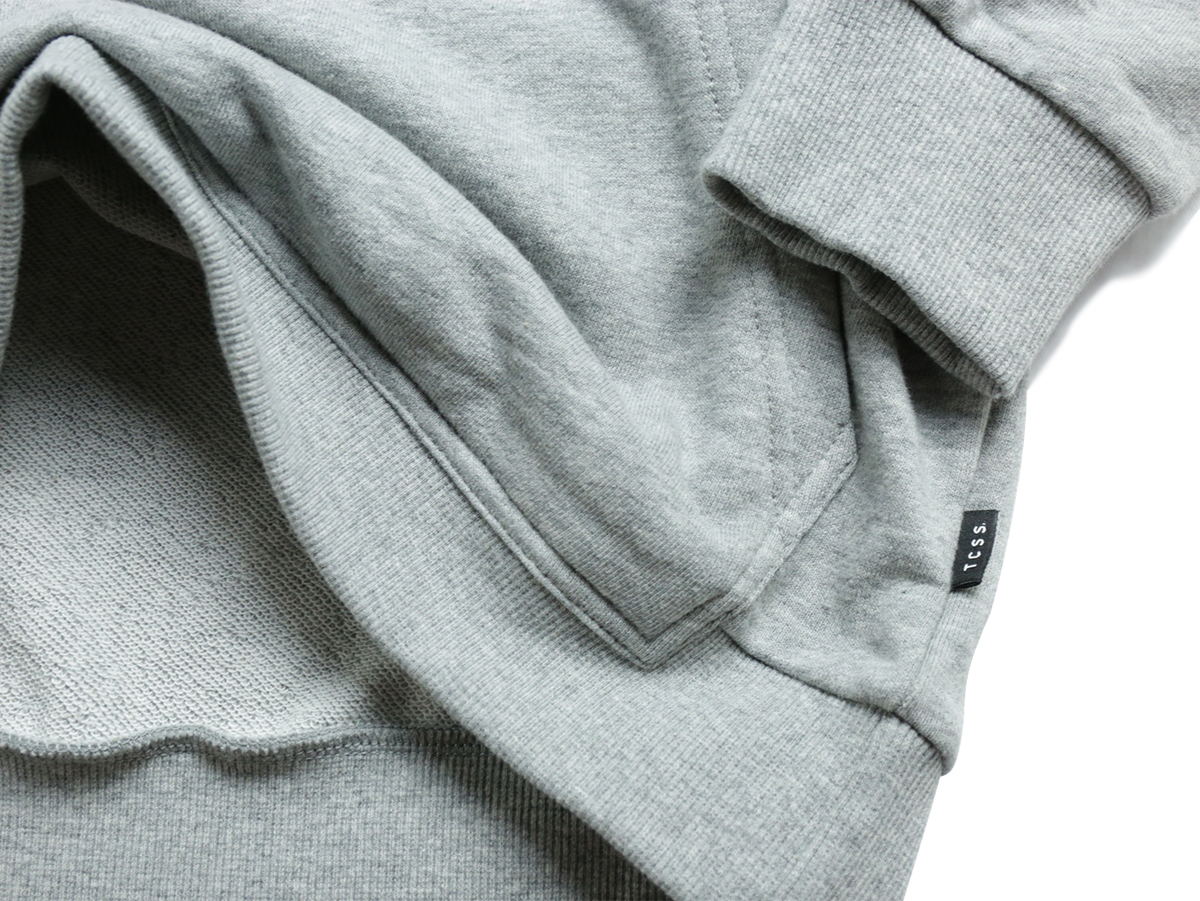 TCSS/the critical slide society FALL 2016  TRUSTY POP HOODIE  color : Heather Grey
