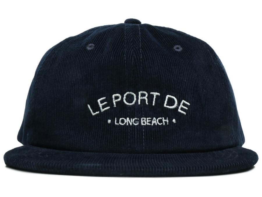 PORT LBC / Le PORT CORDUROY CAP - Navy