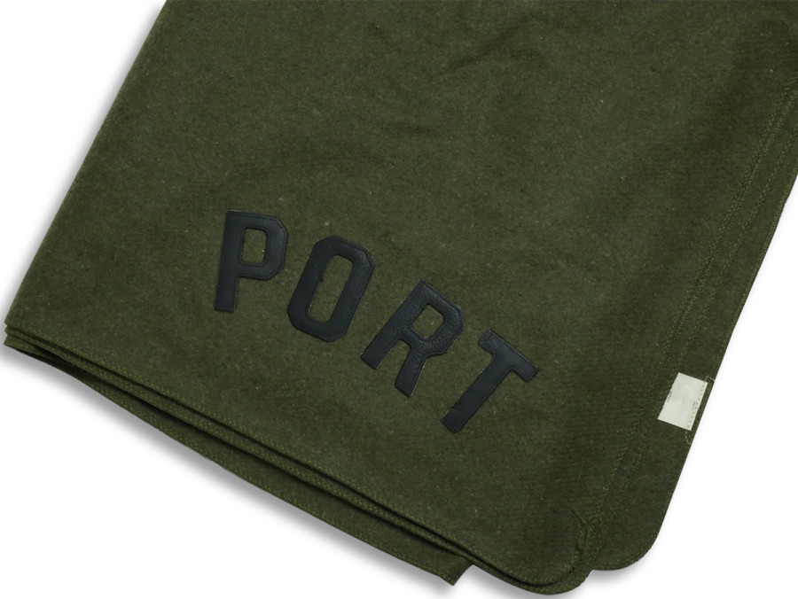 PORT LBC WOOL BLANKET - Olive Drab