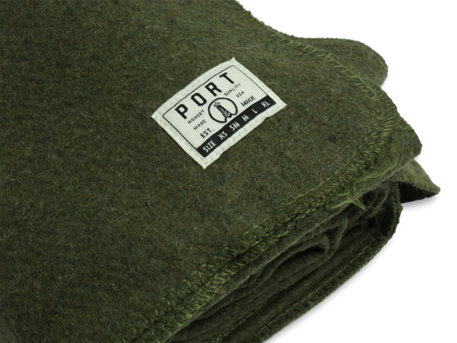 PORT LBC 2015 FALL/WINTER COLLECTION  WOOL BLANKET