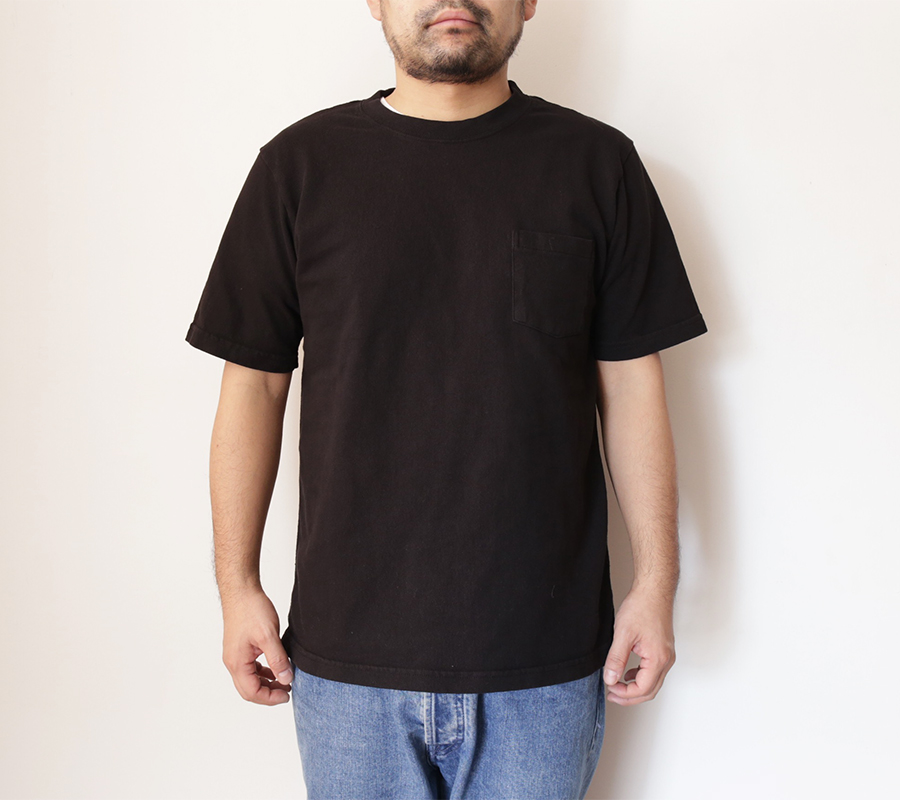 Snap / Velva Sheen / HEAVY OZ POCKET TEE - Black