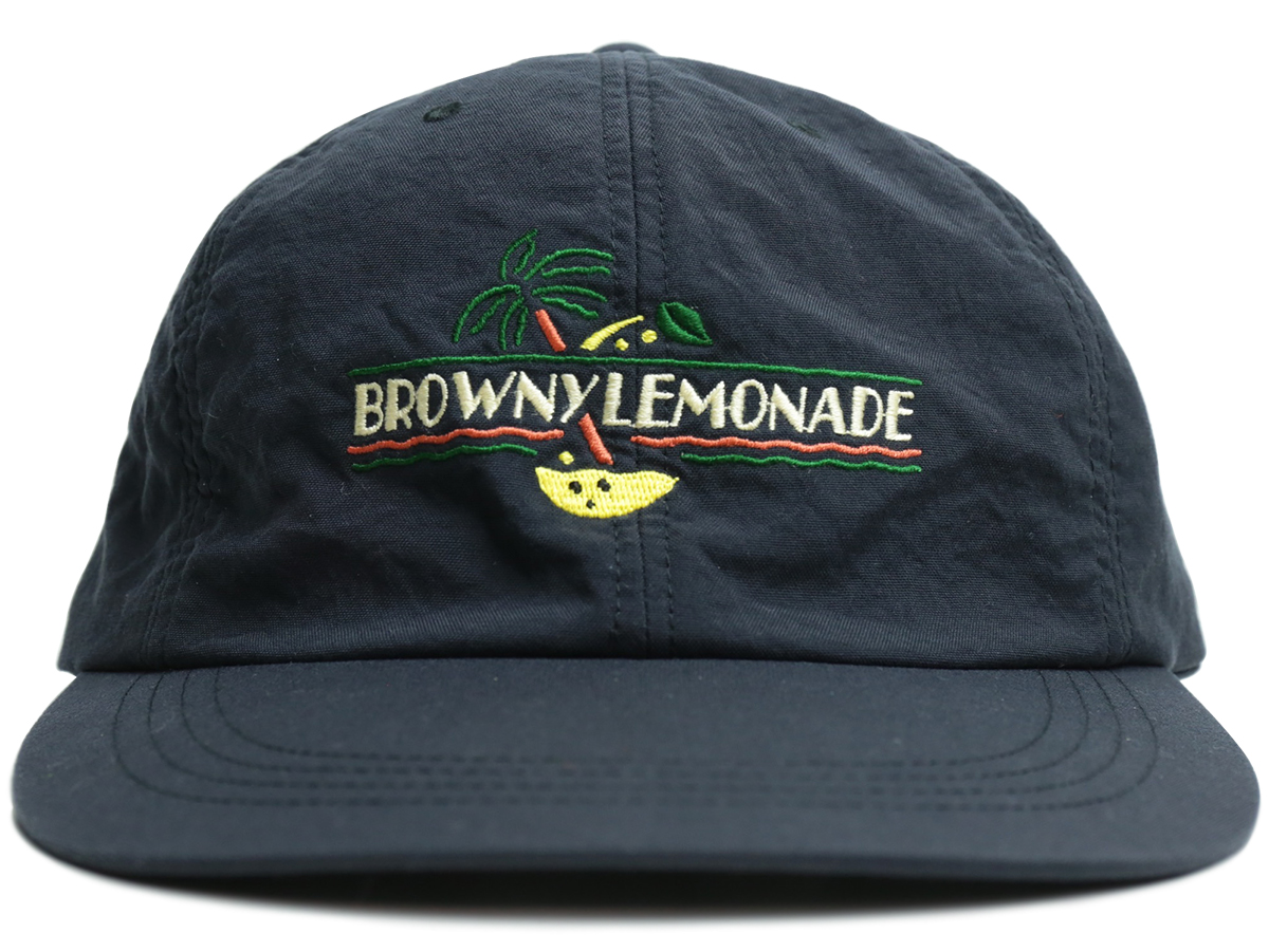 GOOFY CREATION  BROWNY LEMONADE 6 PANEL  color : Black