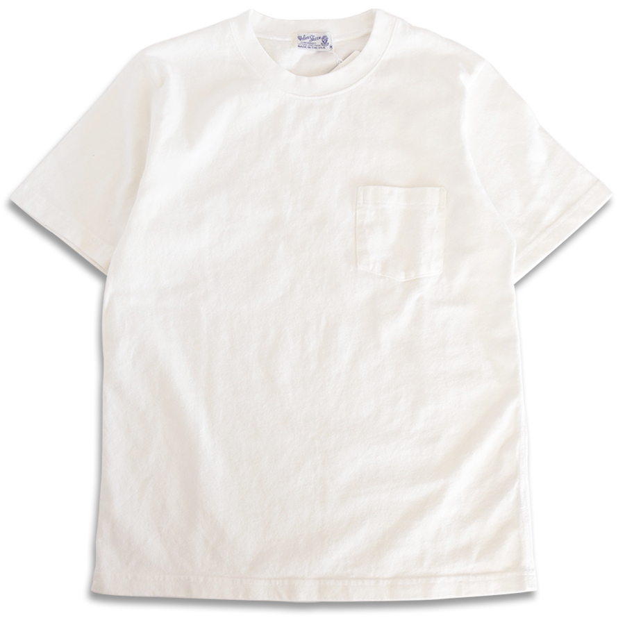 Velva Sheen SPRING 16 COLLECTION HEAVY OZ POCKET TEE color : White