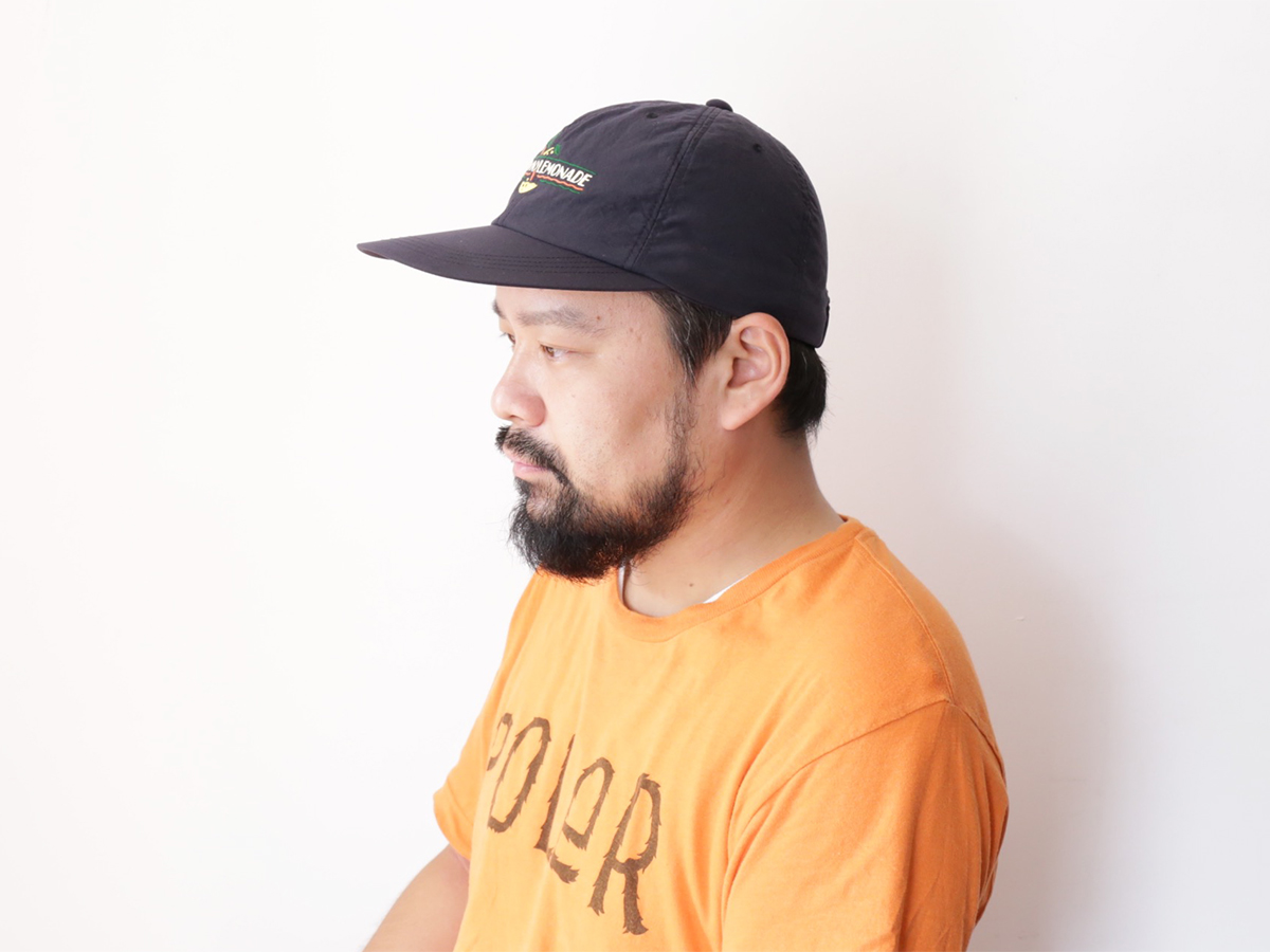 SNAP / GOOFY CREATION  BROWNY LEMONADE 6 PANEL  color : Black
