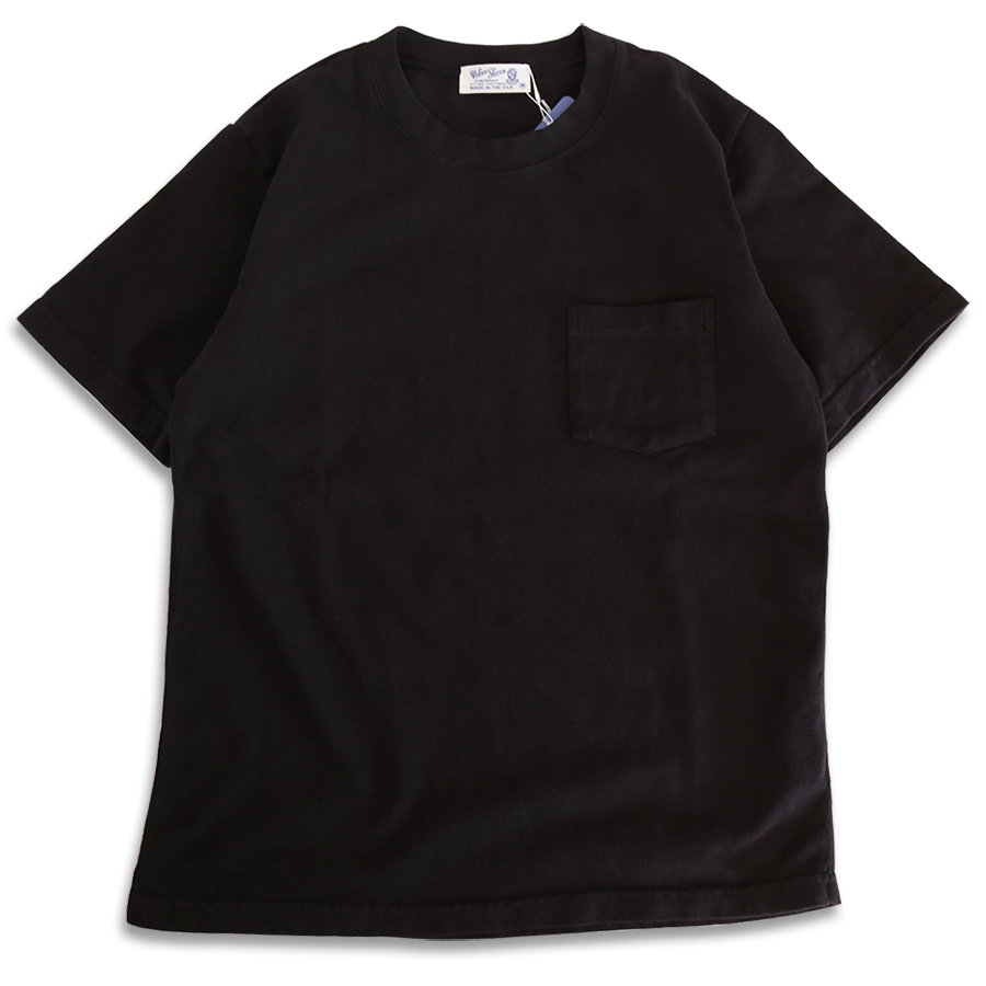 Velva Sheen SPRING 16 COLLECTION HEAVY OZ POCKET TEE color : Black
