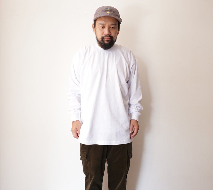 NonWash PRO-TAG / HEAVY WEIGHT LONG SLEEVE T - White XL
