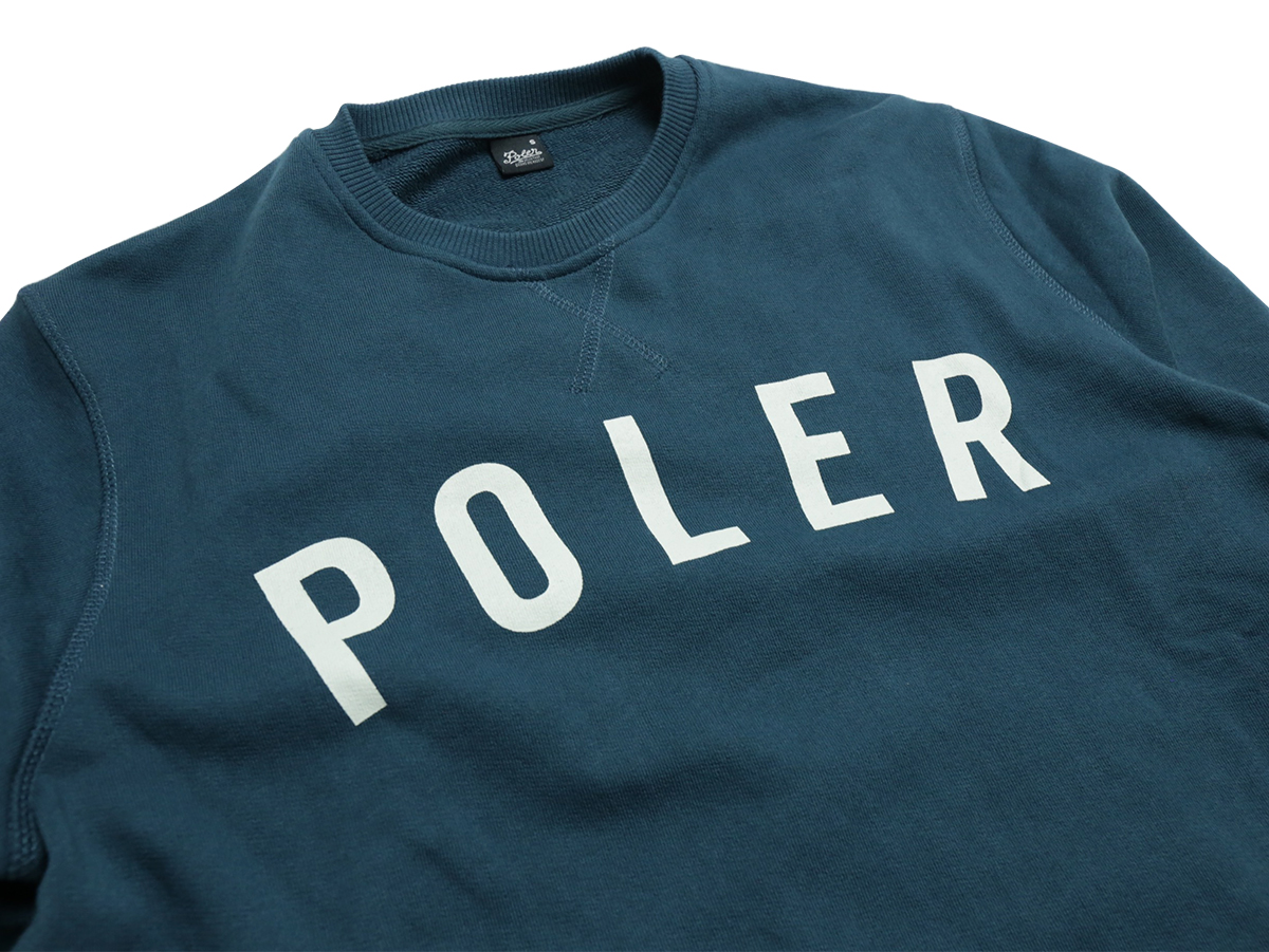 POLeR OUTDOOR STUFF SPRING 16 COLLECTION STATE CREW NECK color : Blue Steel