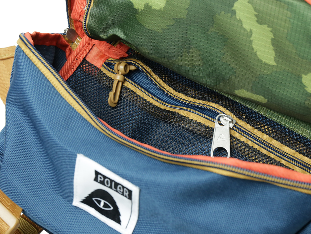POLeR OUTDOOR STUFF SPRING 16 COLLECTION TOURIST PACK color : Green Camo