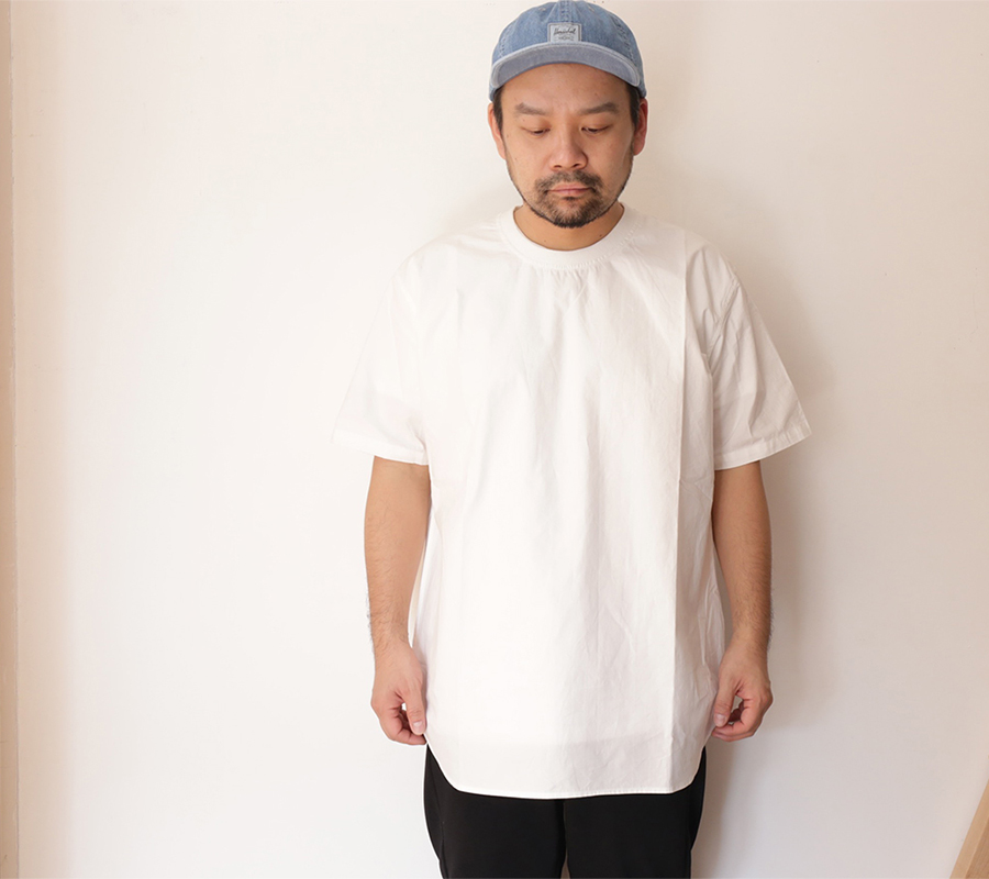 Snap / MAIDEN NOIR / BROAD CLOTH SS SHIRT - White