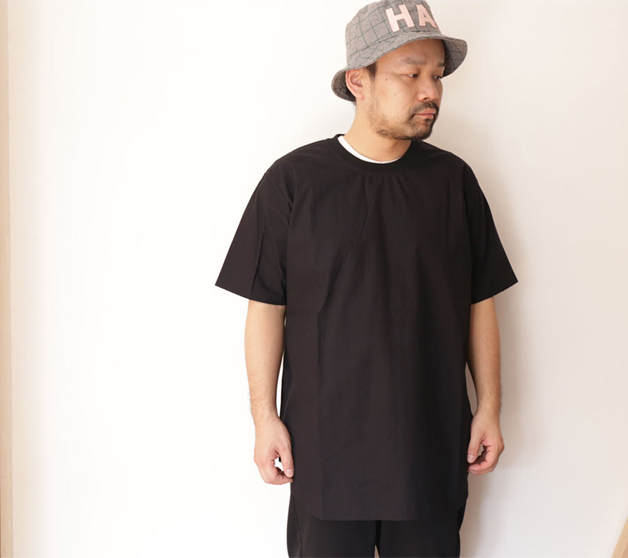 Snap / MAIDEN NOIR / BROAD CLOTH SS SHIRT - Black