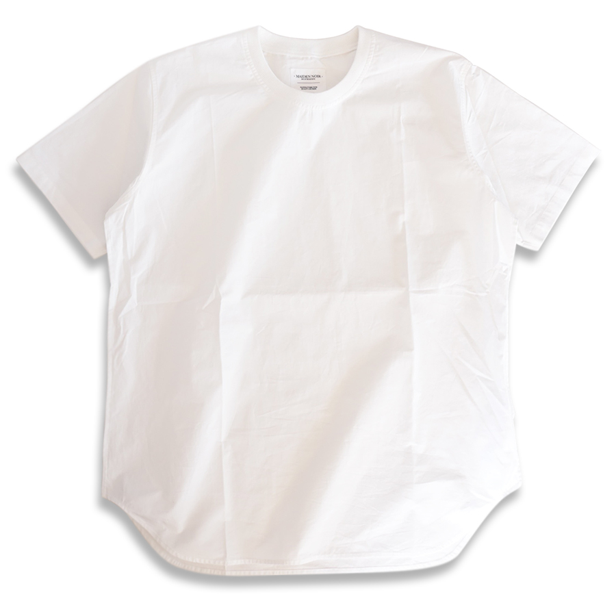 MAIDEN NOIR / BROAD CLOTH SS SHIRT - White