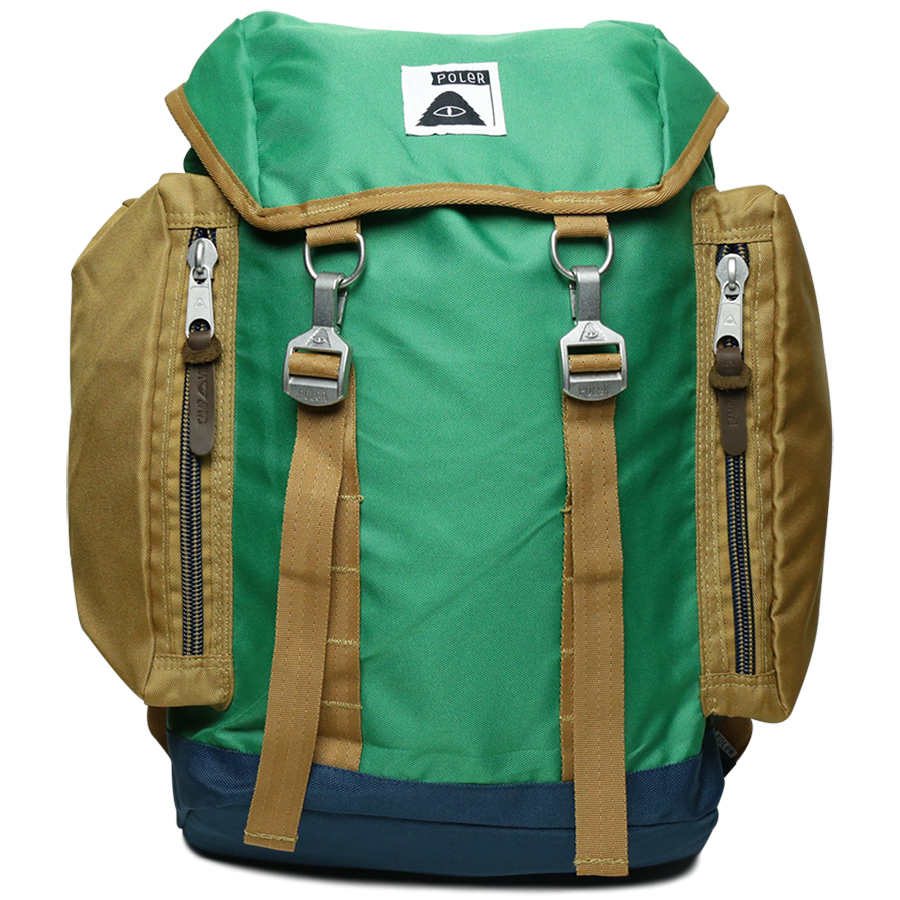 POLeR OUTDOOR STUFF SPRING 16 COLLECTION THE RUCKSACK color : Bright Green