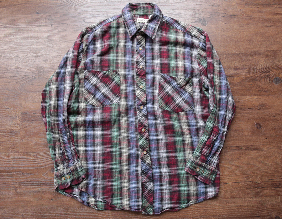 USED FLANNEL SHIRTS