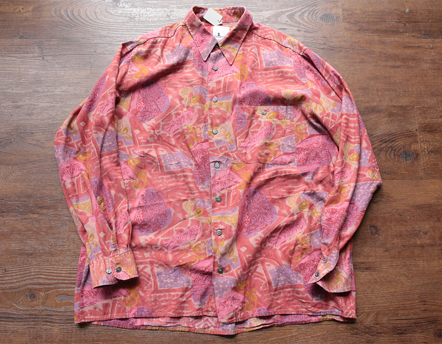 USED PATTERNED ALL OVER SHIRT