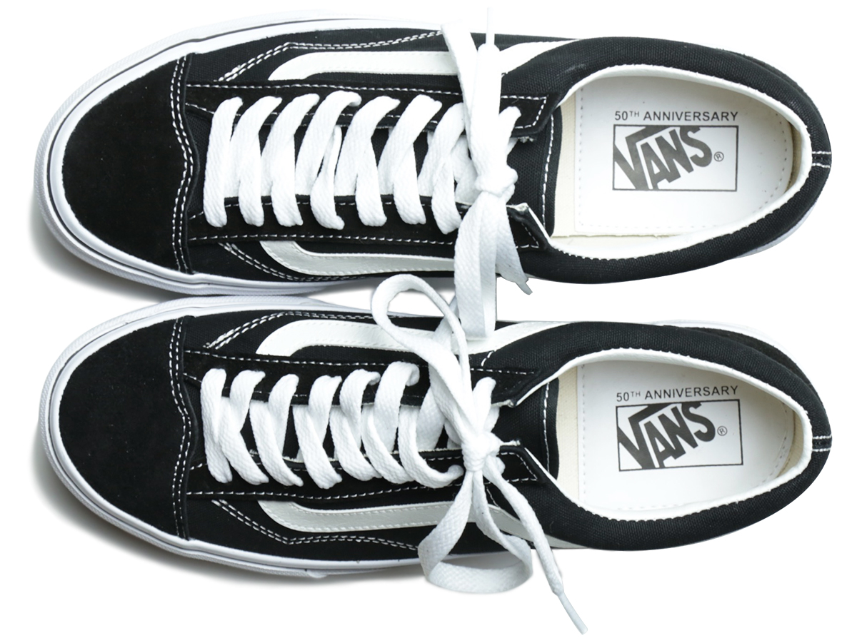 VANS 50th EXCLUSIVE MODEL OLD SKOOL V36OG color : Black/White