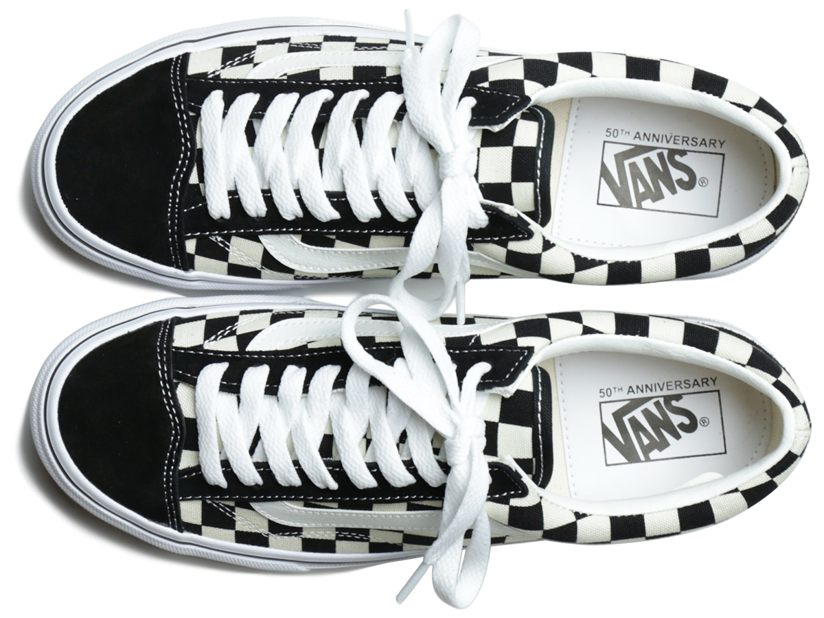 VANS 50th EXCLUSIVE MODEL OLD SKOOL V36OG color : Black/White Checker
