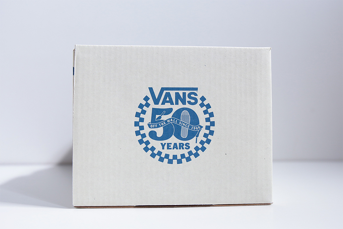 VANS 50th EXCLUSIVE MODEL Special Package