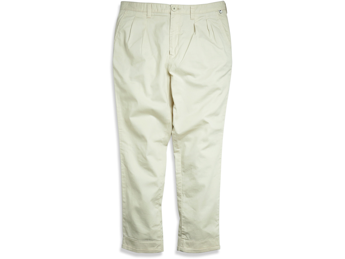 TCSS/the critical slide society SPRING 2016 MR SKIDS CROP PANTS color : Blanc(Off White)