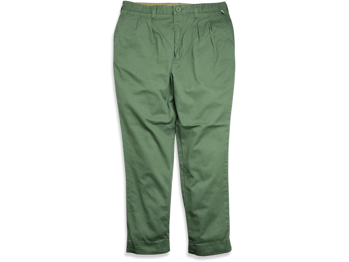 TCSS/the critical slide society SPRING 2016 MR SKIDS CROP PANTS color : Cuctas(Olive Green)