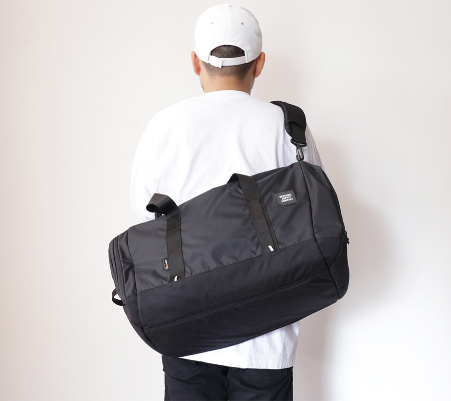 Herschel Supply FALL 2016  TRAIL COLLECTION  GORGE DUFFLE  color : Black