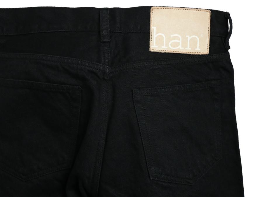 Han Kjobenhavn TAPERED JEANS - Black 3