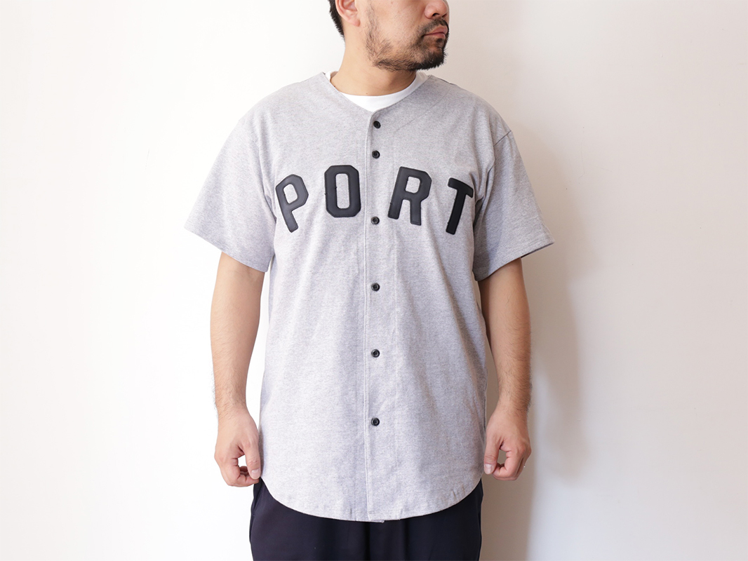 PORT LBC 2016 SPRING/SUMMER COLLECTION THICK KNIT BBALL JERSEY color : Heather Grey