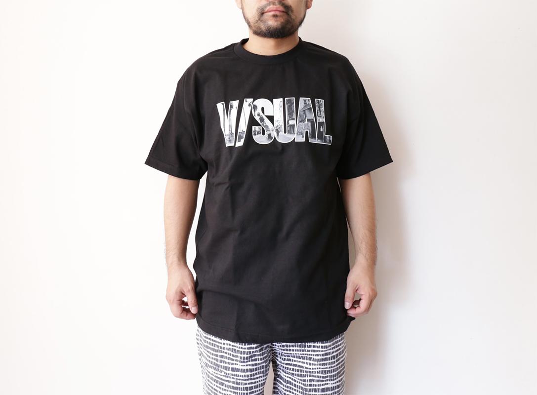 VISUAL Apparel / SPRING 2016 V/SUAL X Evidence / Venice Tee - Black