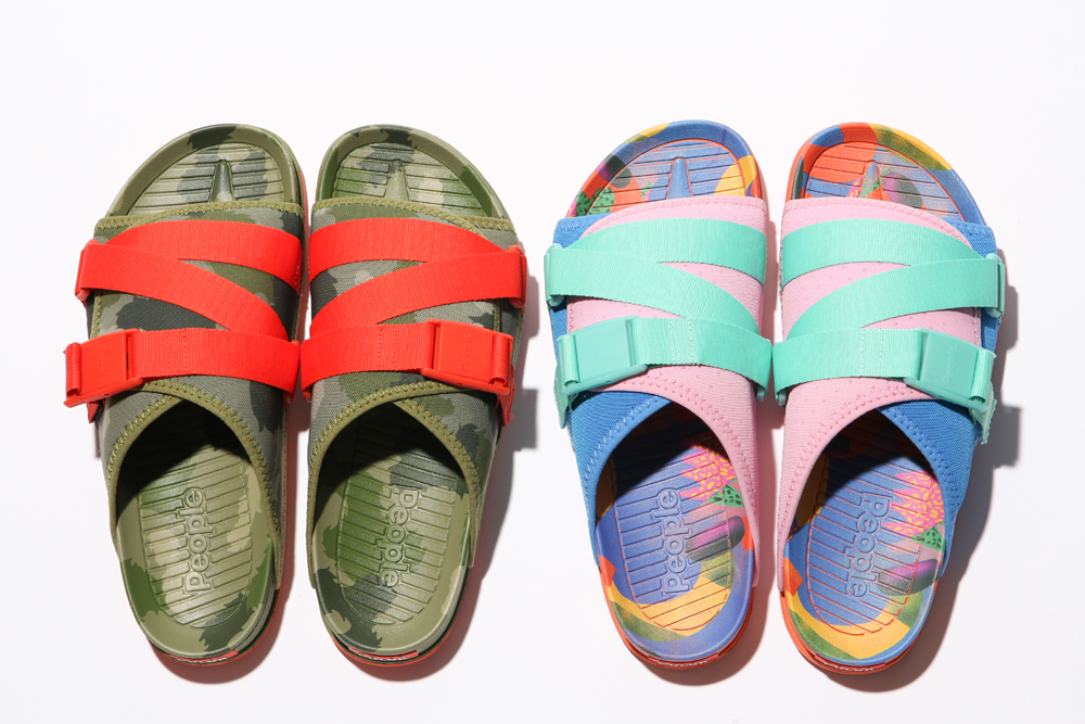Poler x People Footwear Collaborative Sandals THE LENNON CHILLER