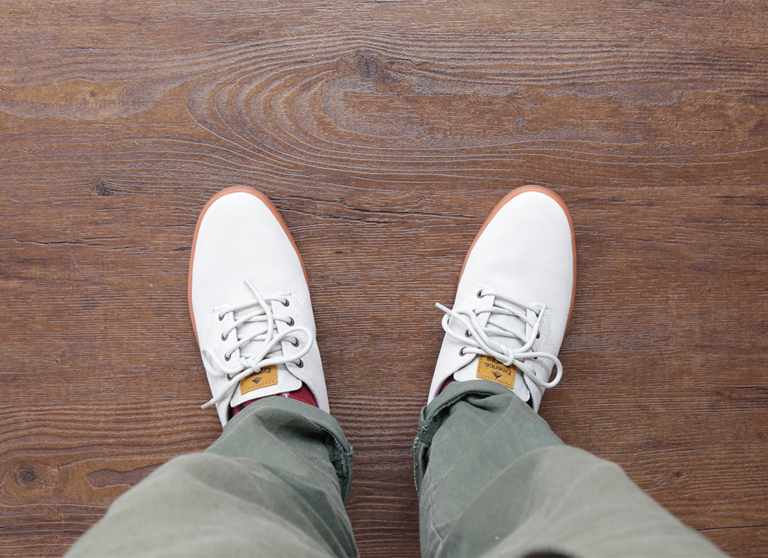 EMERICA / ROMERO LACED - White/Gum