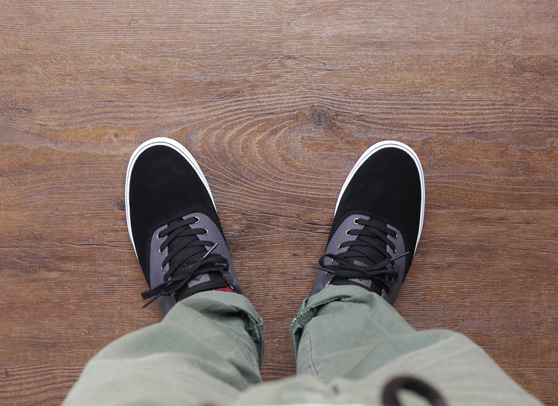 EMERICA / PROVOST SLIM VULC - Black/Grey/White