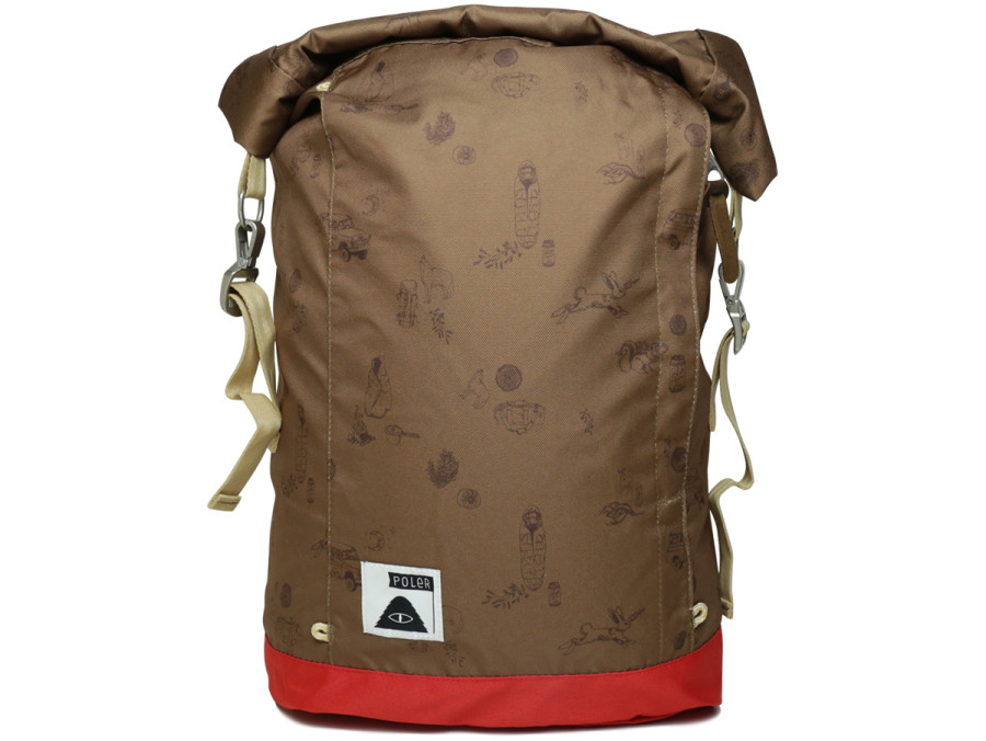 THE HOLIDAY ROLLTOP Campalogue Bison/Bright Red