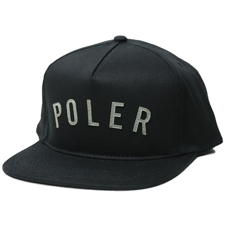 POLeR OUTDOOR STUFF SPRING 16 COLLECTION POLER STATE SNAPBACK color : Black